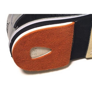 3G Bowling Backskin Leather Orange Heel