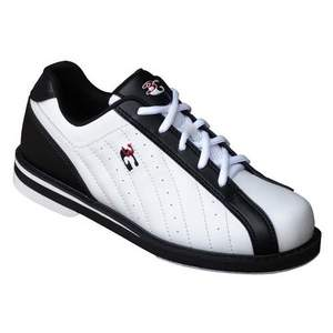 3G Bowling Unisex Kicks White/Black