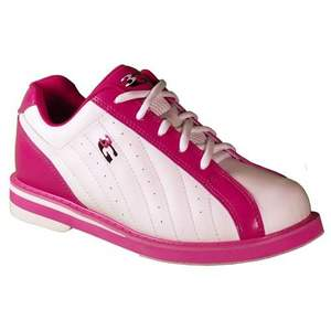 3G Bowling Women's Kicks White/Pink