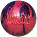 AMF 300 Smoke Purple/Red Bowling Balls