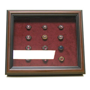 bowlingball.com 12 Ring Shadowbox Frame