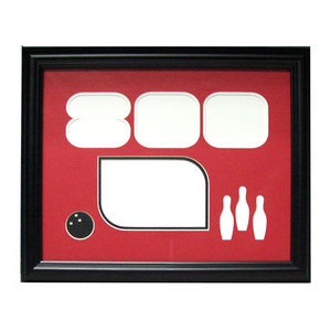 bowlingball.com Black 800 Series Photo Frame