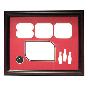 bowlingball.com Mahogany 800 Series Photo Frame