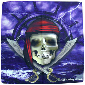 bowlingball.com Pirate Suede Microfiber Towel