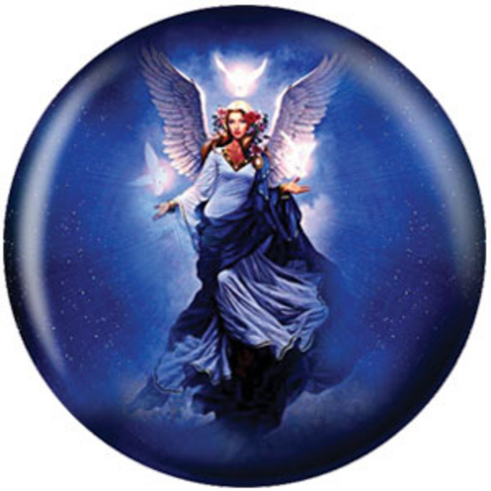 Buy discount bowling balls - bowlingball.com Angel Ball - Celestial Apparition Viz-A-Ball Bowling Balls