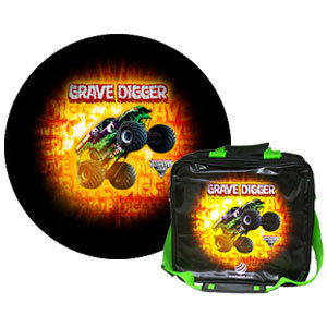 bowlingball.com Exclusive Grave Digger Ball/Bag Combo