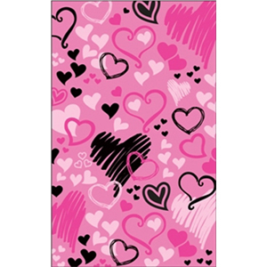 Brunswick Hearts All Over Towel
