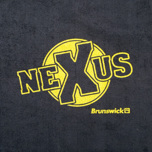 Brunswick Nexus Microfiber Towel Black