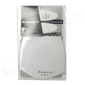 Brunswick White Microfiber (S6) Sole