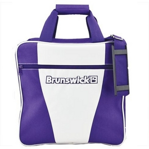 Brunswick Gear White Series Single Tote Purple