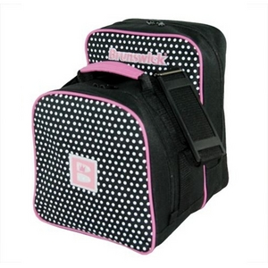 Brunswick Image Single Tote Polka Dots Pink