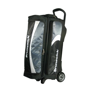 Brunswick Pro Glide Triple Roller Charcoal/Black