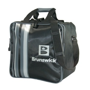 Brunswick Slingshot Single Tote Black/Silver
