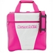 Brunswick Gear White Series Single Tote Pink