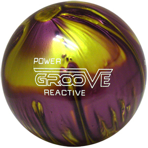 Brunswick Power Groove Merlot / Gold Pearl
