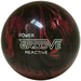 Brunswick Power Groove Black / Pink Pearl Bowling Balls