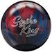 Brunswick Strike King Blue/Red Pearl Bowling Balls