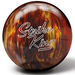 Brunswick Strike King Red/Gold Pearl Bowling Balls