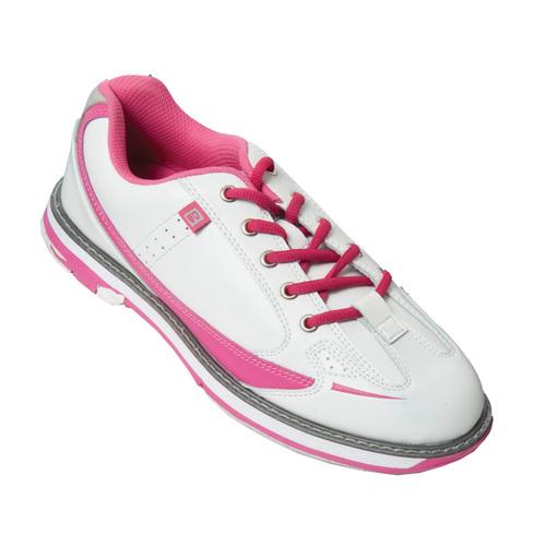 brunswick s curve white pink bowling shoes free