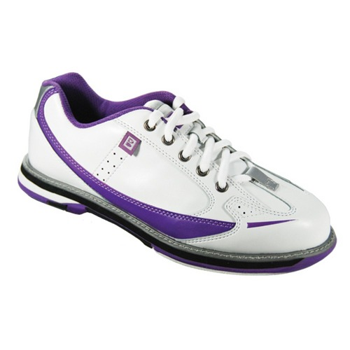 brunswick s curve white purple bowling shoes free