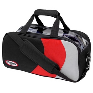 Columbia 300 Pro Series Double Tote Black/Red/Silver