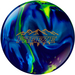 Columbia 300 Freeze Pearl Navy/Purple/Yellow Bowling Balls