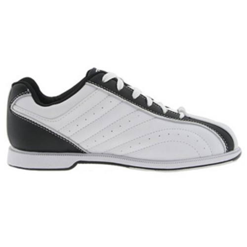 s groove white black bowling shoes free shipping