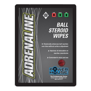 Ebonite Powerhouse Adrenaline Ball Steroid Wipes
