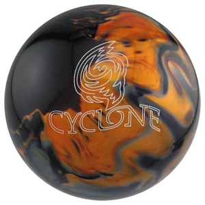 Ebonite Cyclone Black/Gold/Silver