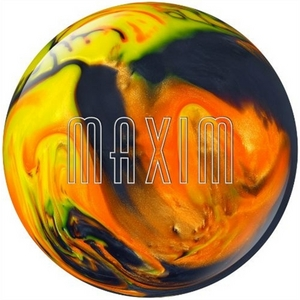 Ebonite Maxim Black/Orange/Yellow