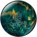 Ebonite Cyclone Green/Gold/Silver Bowling Balls