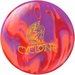 Ebonite Cyclone Orange/Purple/Red Bowling Balls