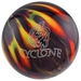 Ebonite Cyclone Purple/Orange/Yellow Bowling Balls
