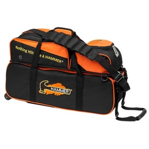 Hammer Triple Tote w/ Removeable Pouch Black/Orange