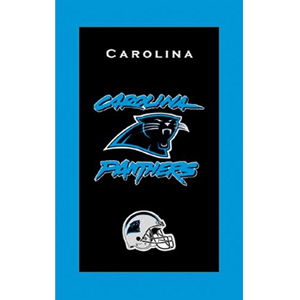 KR Strikeforce NFL Towel Carolina Panthers