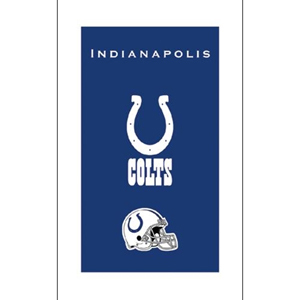 KR Strikeforce NFL Towel Indianapolis Colts