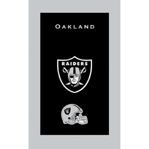 KR Strikeforce NFL Towel Oakland Raiders