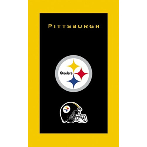 KR Strikeforce NFL Towel Pittsburgh Steelers