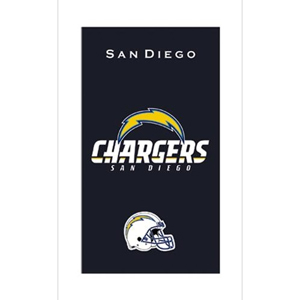 KR Strikeforce NFL Towel San Diego Chargers