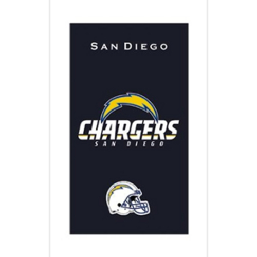 San Diego Chargers Car Accessories: KR Strikeforce NFL Towel San Diego Chargers Bowling