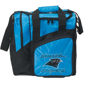 KR Strikeforce NFL Carolina Panthers Single Ball Bag