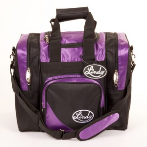 Linds Laser Deluxe Single Tote Purple