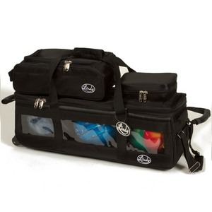 Linds Triple Tote Roller Plus Black