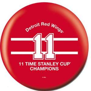 OTB NHL Detroit Red Wings 11 Time Champions