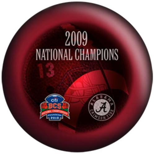 NCAA Alabama Crimson Tide 2009 National Football Champions 15 Only ...