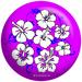 OTB Flower Purple/Blue - Exclusive Bowling Balls