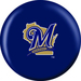 OTB MLB Milwaukee Brewers Side 2