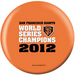 OTB MLB San Francisco Giants 2012 World Series Champs V1 6 12 Only Bowling Balls