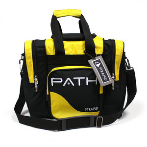 Pyramid Path Single Deluxe Tote Black/Yellow
