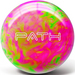 Pyramid Path Hot Pink/Lime Green NEW COLOR Bowling Balls